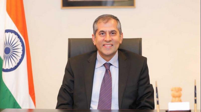 Pavan Kapoor, Ambassador of India to the United Arab Emirates (UAE) (Photo- Twitter)