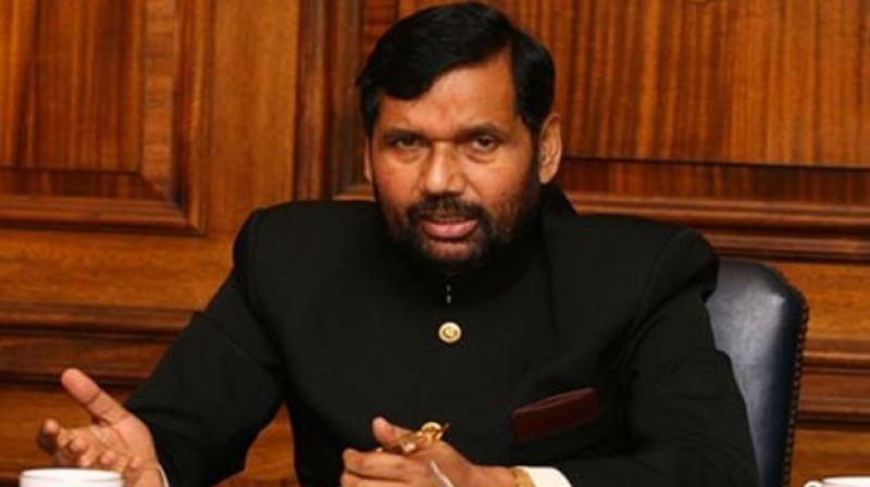 Union Food and Consumer Affairs Minister Ram Vilas Paswan. (Photo: PTI)