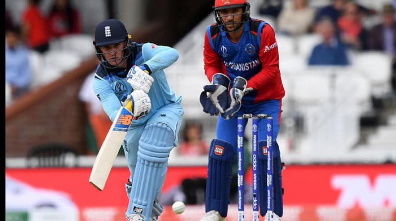 England sit on the fourth place with six points. On the other hand, Afghanistan are placed at the bottom of the table with four losses in as many games. (Photo: AFP)