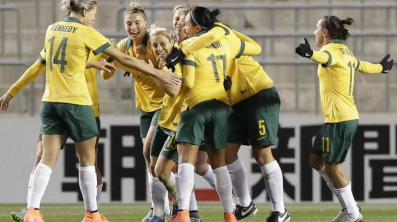 The deal will reduce the gender pay gap in Australian football but male players stand to earn significantly more due to their greater time on the pitch.(Photo: AFP)
