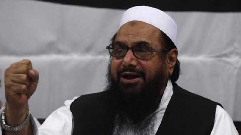 The Trump Administration Friday expressed doubts over Pakistan's intentions in arresting terrorist Hafiz Muhammed Saeed, the mastermind of the 2001 Parliament attack and the 2008 Mumbai attack, saying his previous arrests made no difference either to his activities or that of his outfit Lashkar-e-Taiba. (Photo: File)