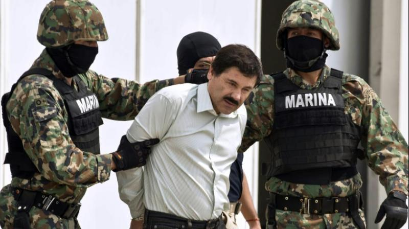 """""""There was no justice here,"""" Guzman declared in Spanish, expressing no regret as he delivered what were likely his final public words before he is taken to a supermax federal prison to live out his days. (Photo: ANI)"""