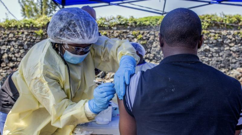 The year-old Ebola epidemic in eastern DR Congo, the second deadliest on record, has largely been contained to remote areas, but this week saw a patient diagnosed with the virus in provincial capital Goma, the first case in a major urban hub. (Photo: AFP)