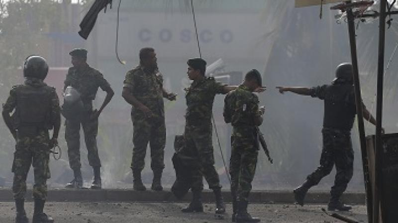 Three of the 15 people killed were the same people who were seen in the undated video on social media, in which they discus martyrdom and urge their followers to kill all non believers, police sources said. (Photo: AP)