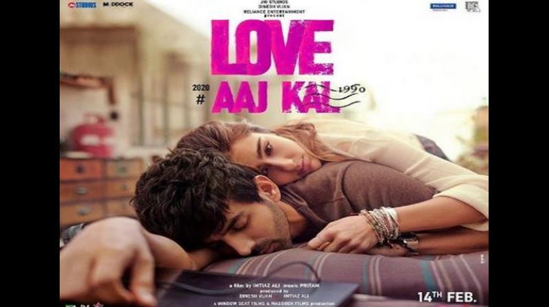 Love Aaj Kal poster. (Photo: ANI)
