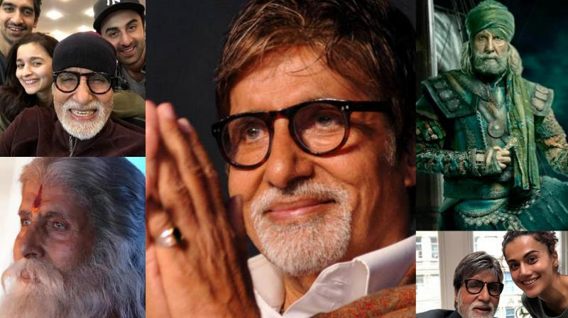 Amitabh Bachchan celebrates his 76th birthday today.