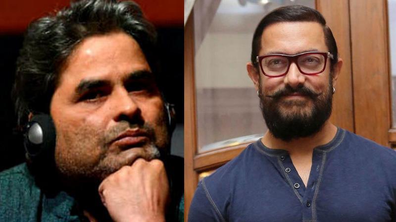 Vishal Bhardwaj and Aamir Khan.