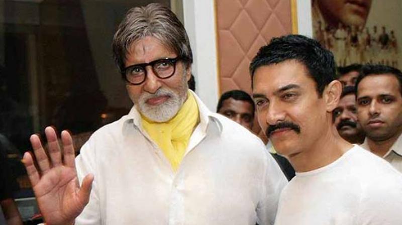 Amitabh Bachchan and Aamir Khan.