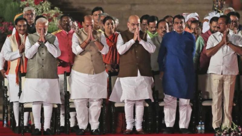 Prime Minister Narendra Modi's Cabinet. (Photo: PTI)