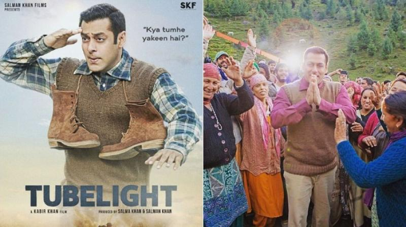 Salman Khan in 'Tubelight'.