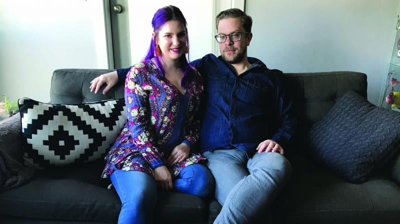 Matt Bowes and Erin Fraser, a Canadian couple, run a podcast called Bollywood is For Lovers