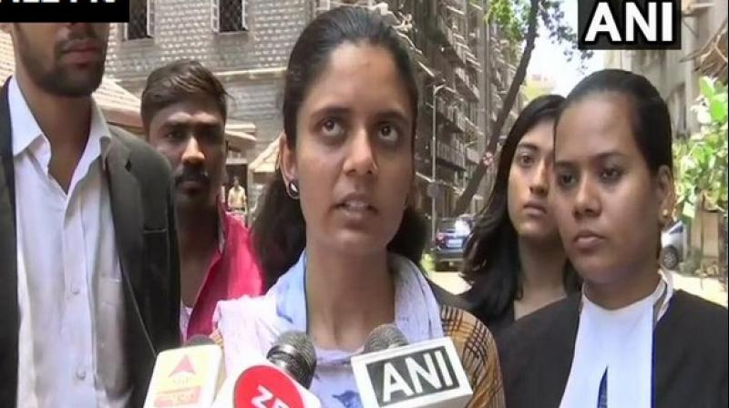 On May 6, Priyanka Shete wrote a letter to NCW seeking registration of an FIR against her uncle and cousins. (Photo: ANI)