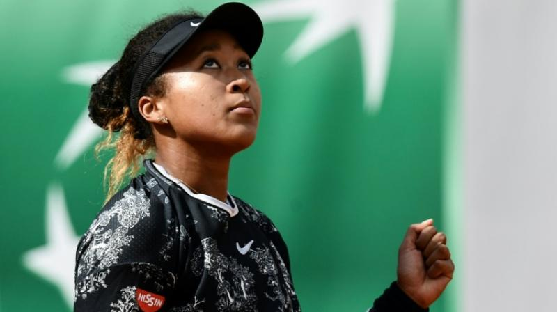 Naomi Osaka's quest for a third consecutive Grand Slam title almost came to an abrupt end on Tuesday as a number of top players struggled to book their spots in the second round of the French Open. (Photo: AFP)