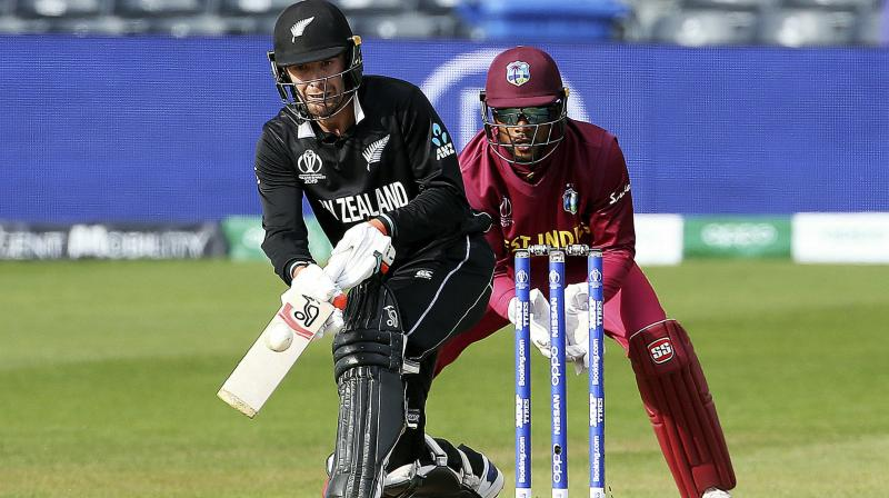 Skipper Kane Williamson and Tom Blundell stitched a 120 run partnership, before Williamson (85) was run out by Fabian Allen in the 26th over with the team still requiring 287 runs for the win. (Photo:AP)