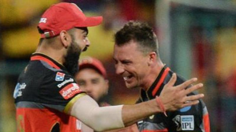 The rivalry between Virat Kohli and Dale Steyn have been intense over the past few years with both players showing off their exemplary skills giving the fans a treat to watch the duo. (Photo:AFP)