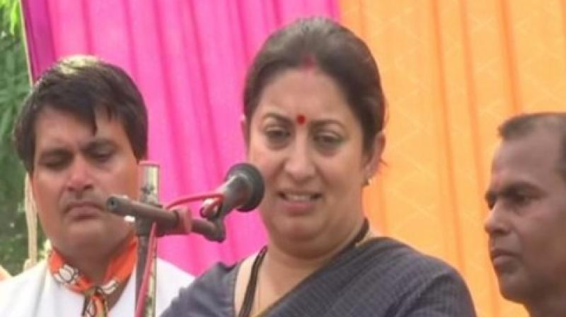 Irani also highlighted that the bill has been drafted. (Photo: PTI/File)