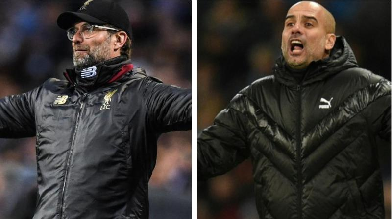Liverpool coach Juergen Klopp and Manchester City manager Pep Guardiola have been inducted into League Manager Association's (LMA) Hall of Fame. (Photo:AFP)