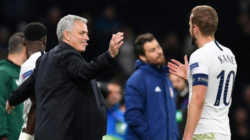 Tottenham Hotspur striker Harry Kane hopes the club's winning start under new manager Jose Mourinho can help forge a strong relationship between the pair and lead to trophies. (Photo:AFP)