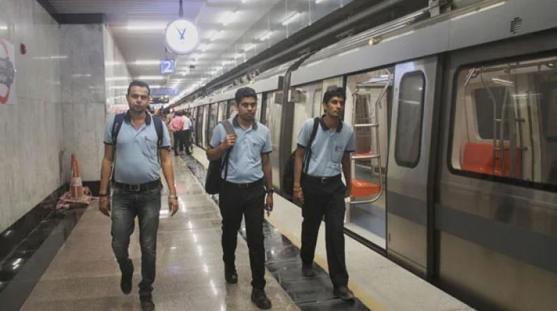 With the opening of these sections, the Delhi Metro network span will become 390 km with 286 stations. (Photo: ANI/Twitter)