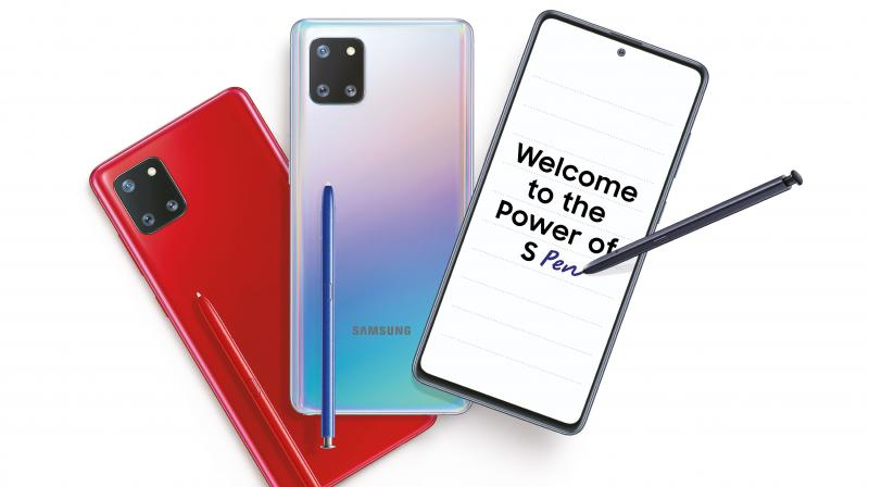 Galaxy Note10 Lite brings the power of the Intelligent S Pen along with industry-leading premium features from the Galaxy Note10 series at a more accessible price point.