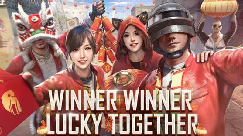 "The theme of the event is ""Winner Winner Lucky Together"", wishing all the good luck to players in the new year."