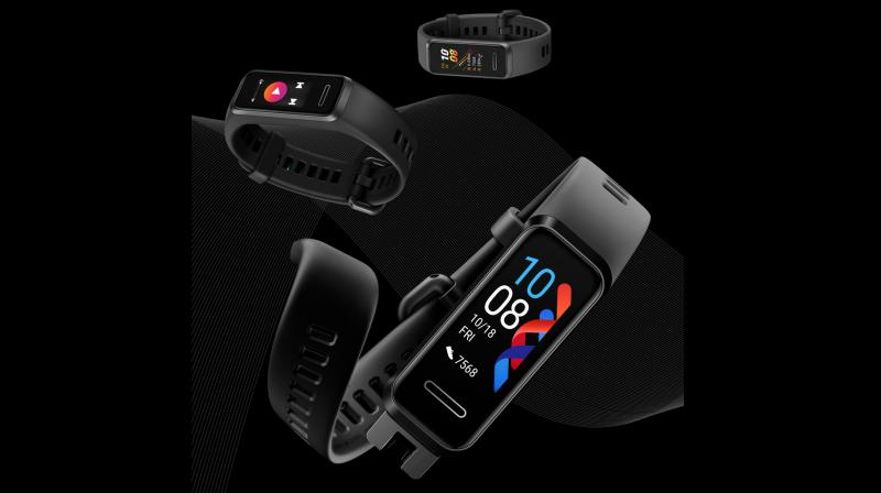 The HUAWEI Band 4 tracks 9 Exercise modes that work on Huawei's proprietary TruSeen 3.5 enabling one of the industry's most accurate & Precise 'Continuous' heart rate monitoring.