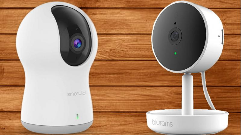 With its compact design, blurams Dome lite and Home Pro can be mounted just about anywhere in the home and features up to 720p and 1080p HD video respectively.