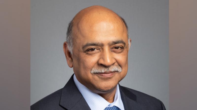 Krishna will take over as the IBM CEO on April 6. (Photo: ANI)