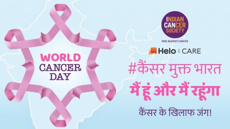 ICS will create and promote awareness content, under the main hashtag #CancerMuktIndia.