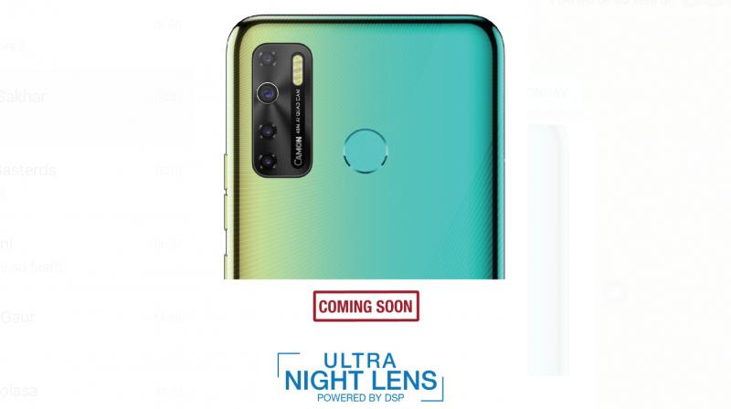 Tecno will be launching not one, but two bellwether smartphones under its camera-centric Camon series.