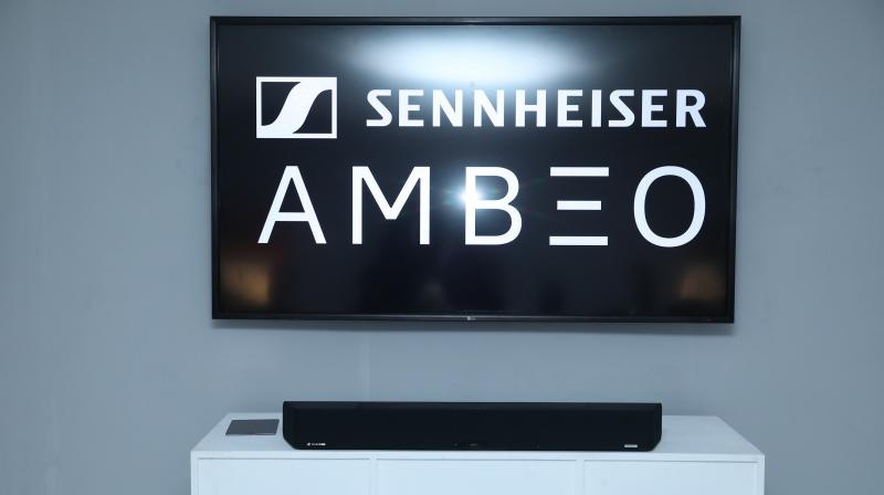 The AMBEO soundbar is among the first in the world to churn out 3D sound from a single source.