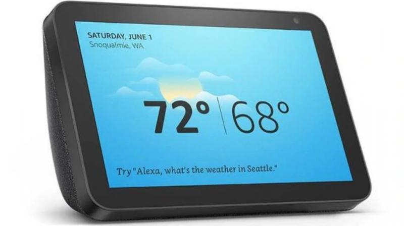The Amazon Echo Show 8 is priced at Rs 12,999.