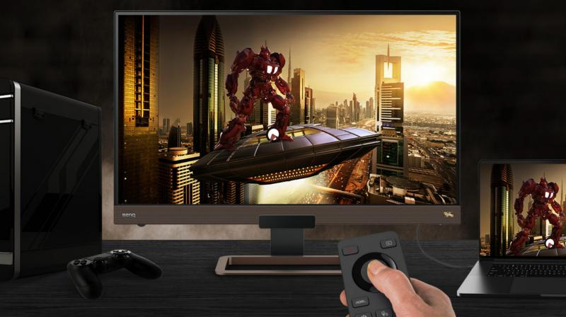 The BenQ EX2780Q gaming monitor is available at Amazon for Rs. 36,990.