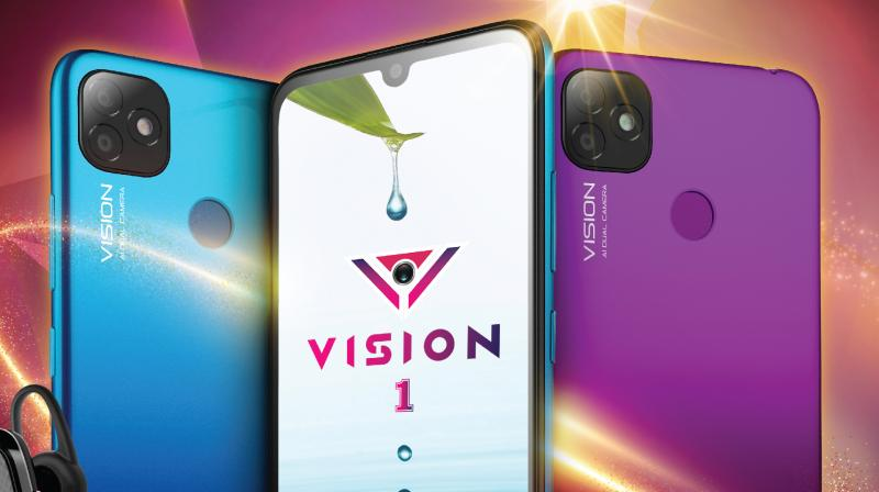 Launch of itel Vision 1 reinstates itel's 2020 vision to lead the change and power consumers' ambitions.