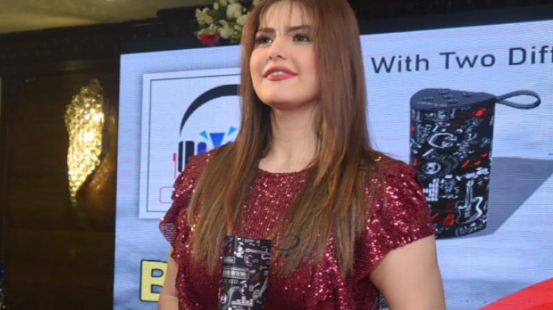 Famous Bollywood actress Zareen Khan graced U&I's launch in Kolkata wherein Gamble headsets were launched.