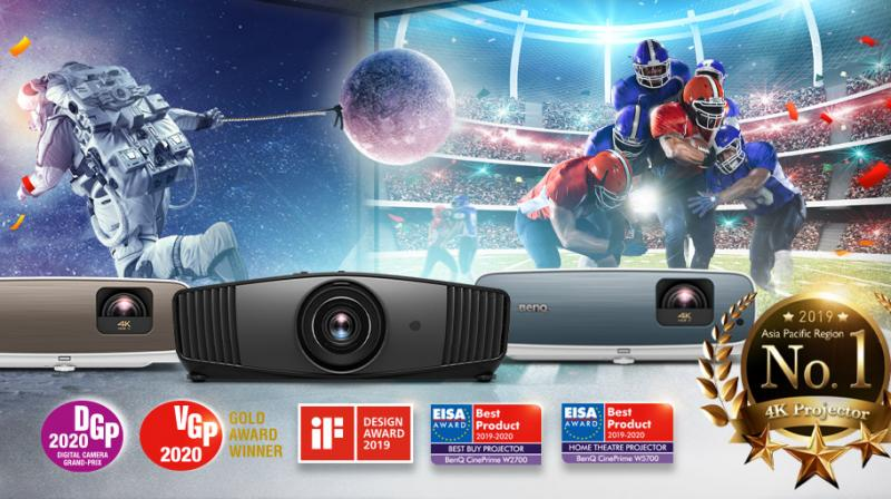 BenQ introduced Home Entertainment TK850, aimed at delighting sports enthusiasts.