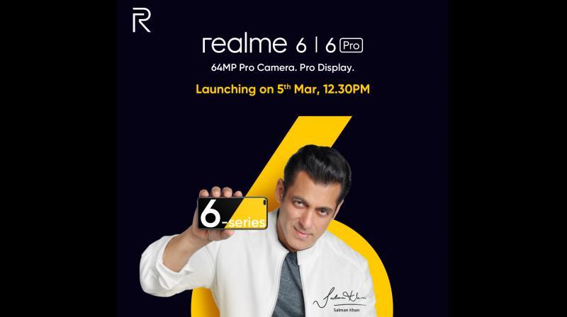 Realme appoints Salman Khan as brand ambassador; teases Realme 6, 6 Pro.