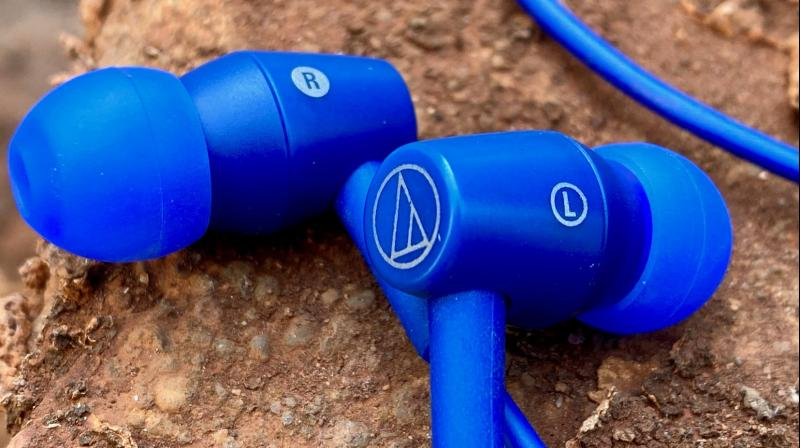 The super-cool Audio-Technica ATH-CLR100BT earphones.