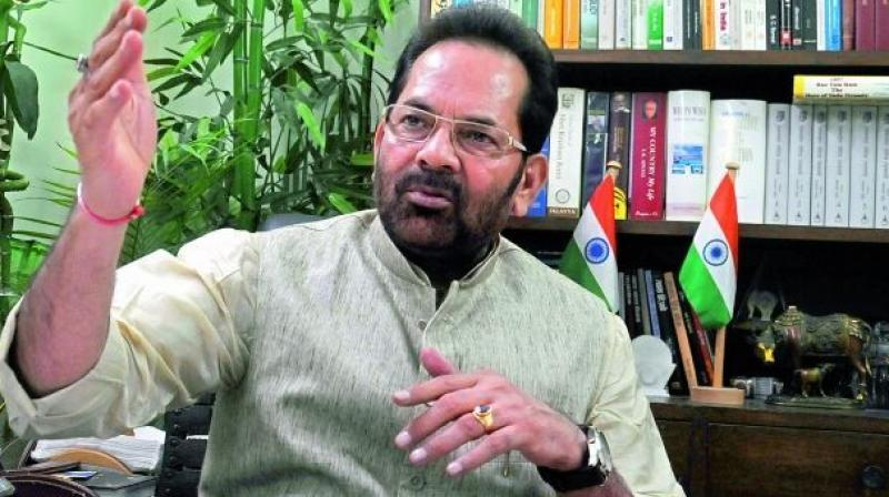 "On incidents of lynching, Naqvi said though there has been development without discrimination, ""some fringe and criminal elements have tried to disrupt the agenda of development."" (Photo: PTI/File)"