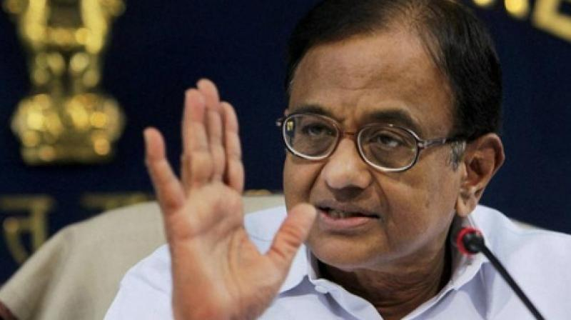 Chidambaram's statement comes close to the heel of appointment of former Intelligence Bureau director Dineshwar Sharma as interlocutor for J-K by the Modi government. (Photo: PTI/File)