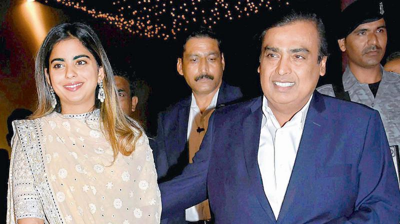When Mukesh Ambani's daughter Isha decided to become an entrepreneur, she didn't join the family business.
