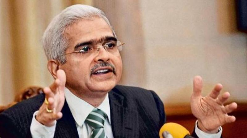 RBI governor Shaktikanta Das. (Photo: File | PTI)