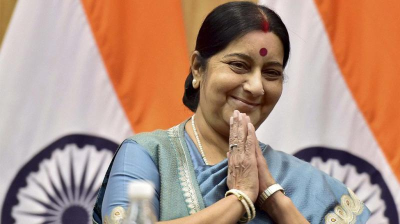 External Affairs Minister Sushma Swaraj. (photo: PTI)