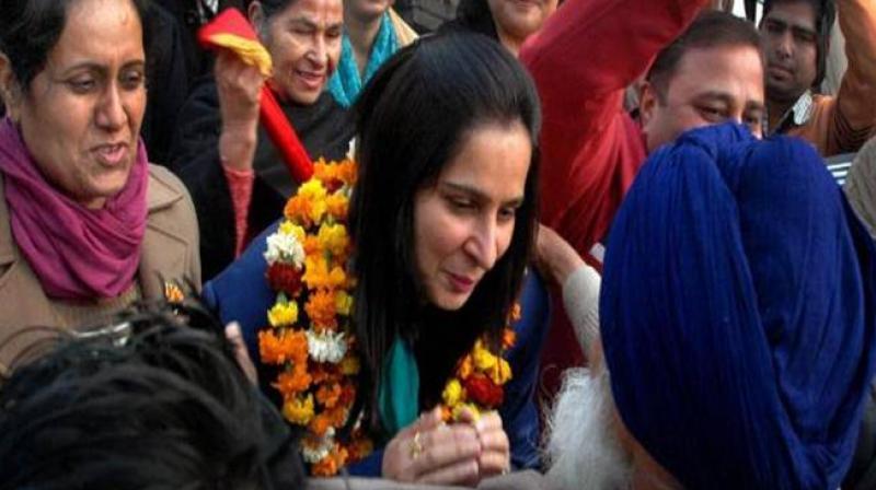 Navjot Singh Sidhu's wife Navjot Kaur Sidhu. (Photo: PTI/File)