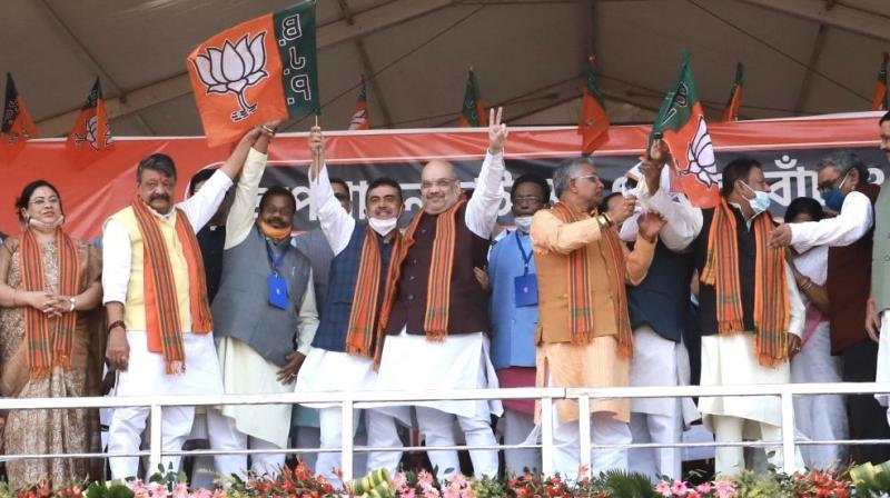 Joining the BJP on Saturday in his home turf, Shubhendu Adhikari described union home minister Amit Shah as his