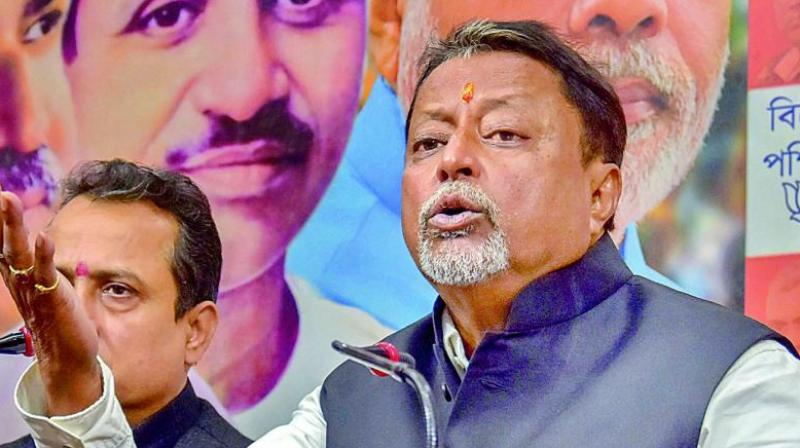 The 50 BJP MLAs on Monday pressed for the use of the anti-defection law on Krishnanagar North MLA Mukul Roy for his return to the TMC from their party last week and his calls to 10 others to follow him. — DC Image