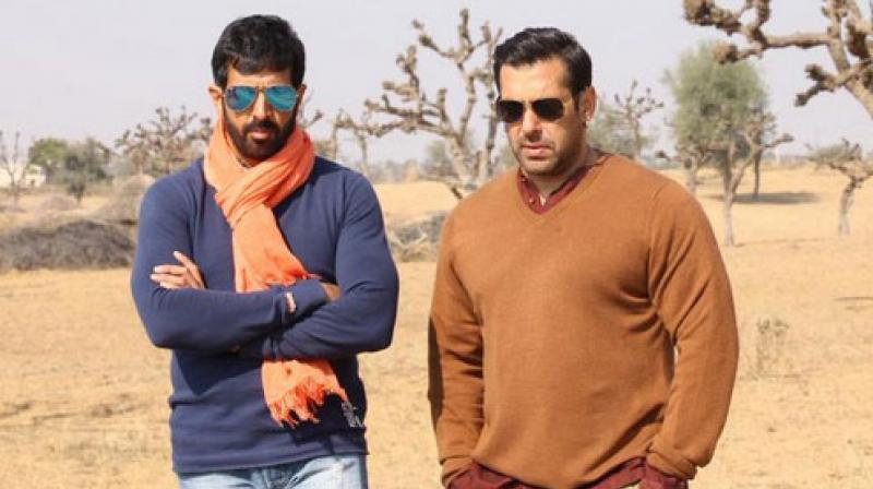 Salman Khan and director Kabir Khan