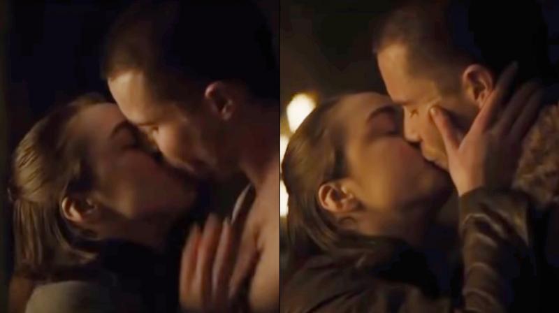 Arya Stark, Gendry sex scene. (Courtesy: YouTube/arguz santillan)