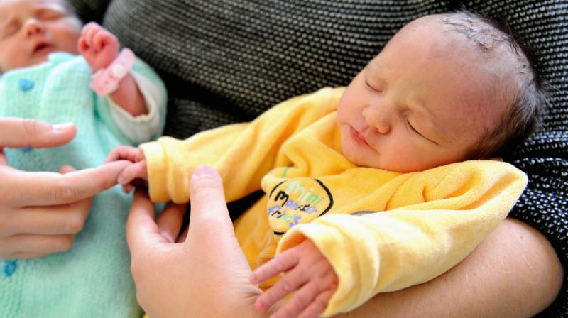 Nonpharmacological pain relief is often used with infants during minor painful procedures like heel sticks (Photo: AFP)