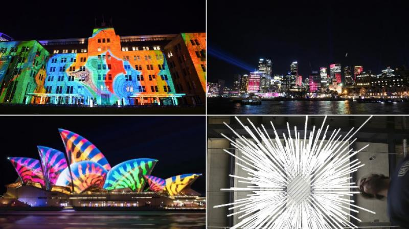 The Vivid Sydney Festival of light, music and ideas is celebrated annually by Australians and artists around the world. (Photo: Instagram/AFP/AP)
